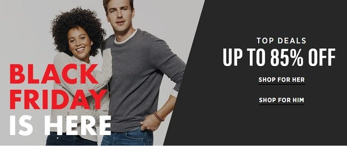 Saks OFF Fifth Black Friday Sale! Up To 85% Off!