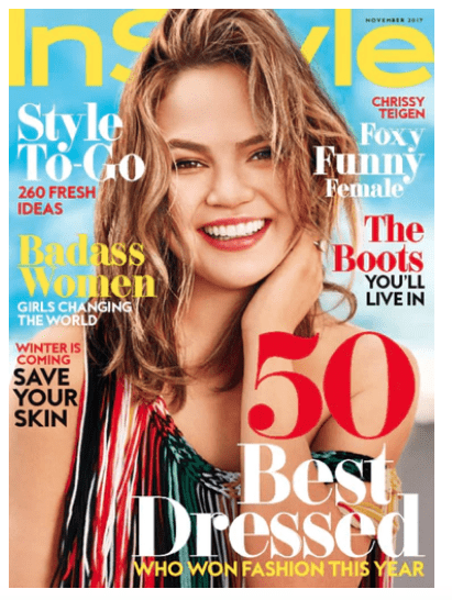 In-Style Magazine  – $6.99 for a Year Subscription