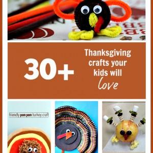 Thanksgiving Crafts - 30+ Thanksgiving Crafts Kids Will Love!