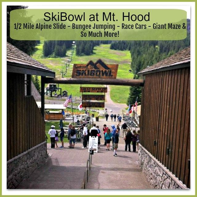 Mt Hood Ski Bowl Adventure Park Summer Review – Family Fun Outdoors!