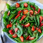 Strawberry Spinach Salad – Easy & Frugal Summertime Salad