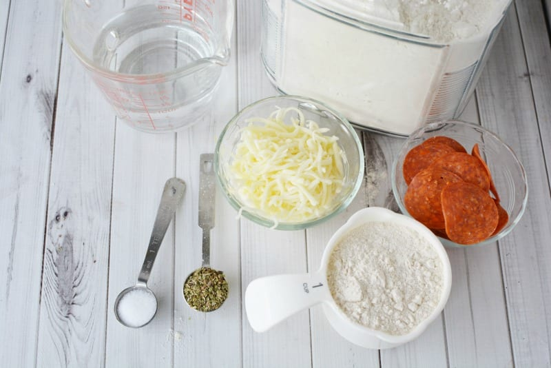 Ingredients for Freezer Friendly Calzones