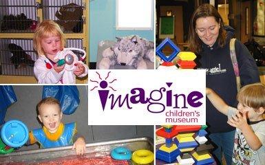 Imagine Children's Museum – Family Year Membership – $38 – Ends Thurs night!