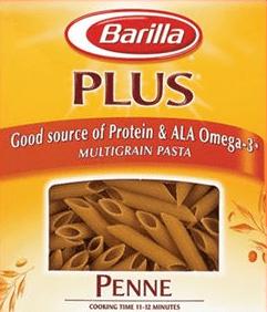 Free box of Barilla Plus Pasta from Vocalpoint