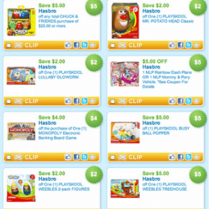 $46 Worth of New Toy Coupons