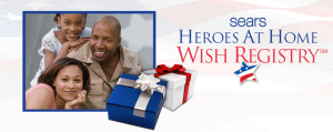 Free Gift Card from Sears for Active-Duty Military