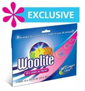 Free Sample of Woolite Dry Clean at Home Sample