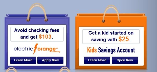 ING: Open A Child's Savings Acct and Get a $25 Bonus, Open Checking Account & Earn $103
