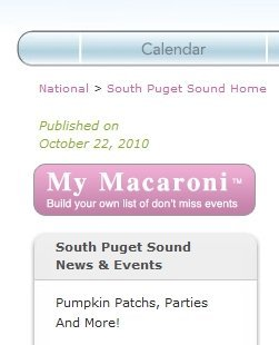 Macaroni Kid – E-Newsletter with Family Friendly Events in Your Area