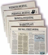 Free 1 year subscription to Wall Street Journal