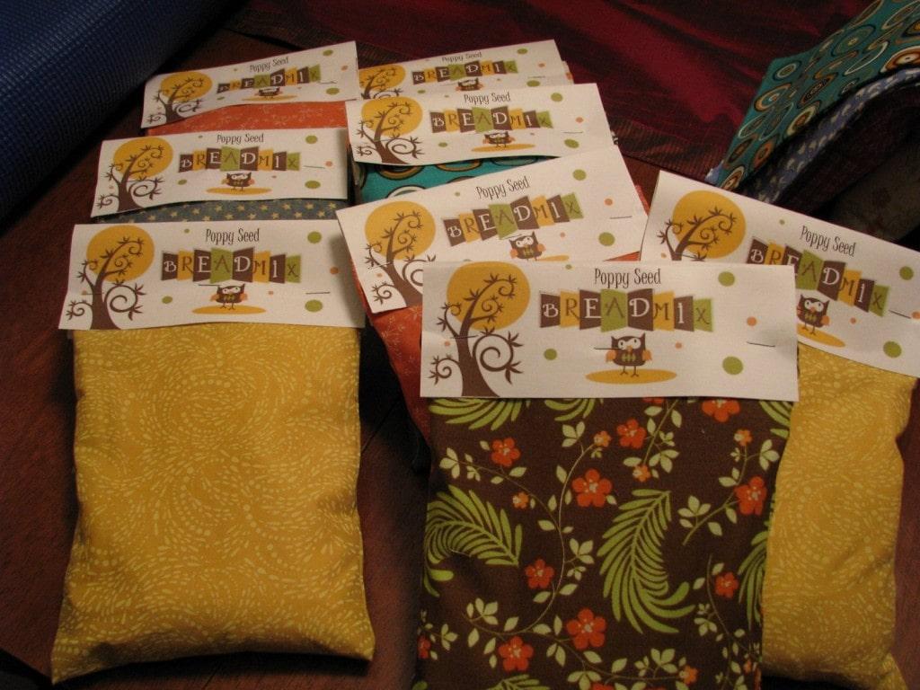 Homemade Gift Idea: Little Bread Bags