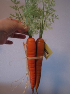 how to make fake carrots