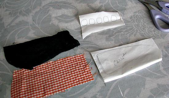 Parts of a Snowman Kit
