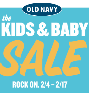 Old Navy – 25% – 35%  off One Item Coupon