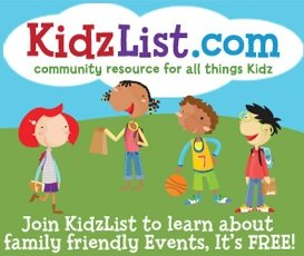 Kidz List – Local Resource for Families