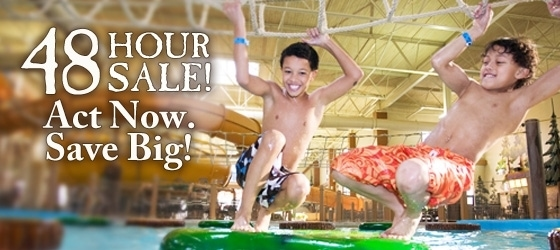 Great Wolf Lodge – 48 Hour Sale