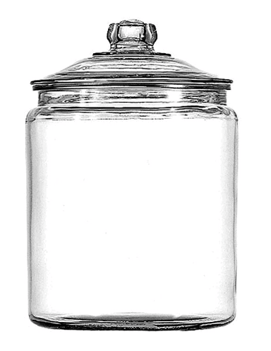 Anchor Hocking Glass Jar for Storing Homemade Laundry Detergent