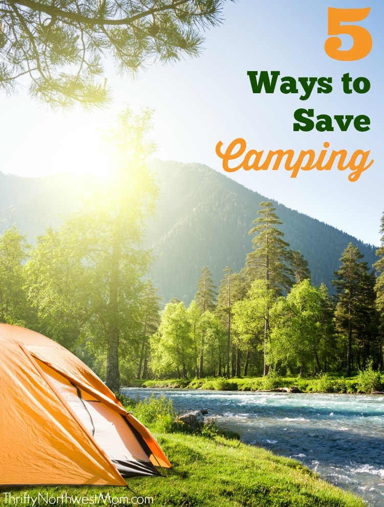 Check out these 5 top tips for saving money on your next camping trip.