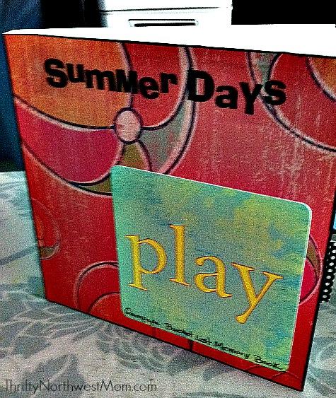 Summer Bucket List Scrapbook