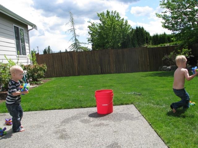 Frugal Summertime Fun: Sponge Balls