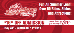 Wild Waves - $16 Off Printable Coupon = $23 99 Tickets or
