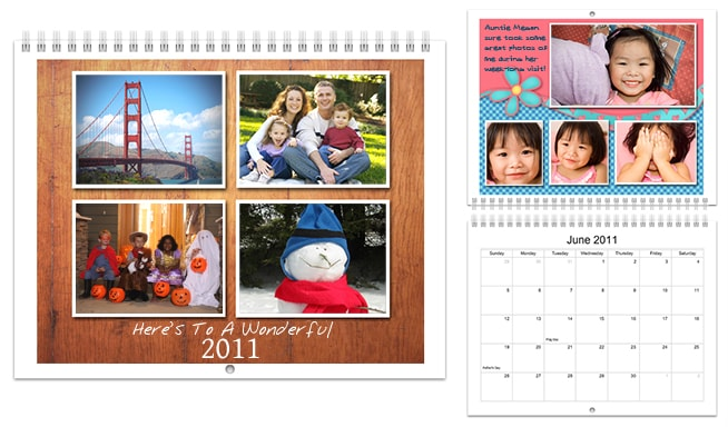 Personalized Photo Calendar – Free + $5.67 Shipping from Vistaprint