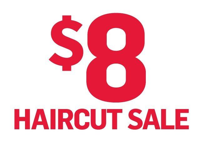 Hairmasters Annual Haircutpalooza – $8.00 Haircuts