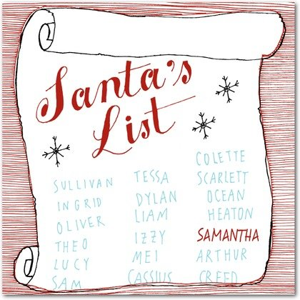 FREE Personlized Santa Greeting and 25% Off Holiday Cards at Tiny Prints