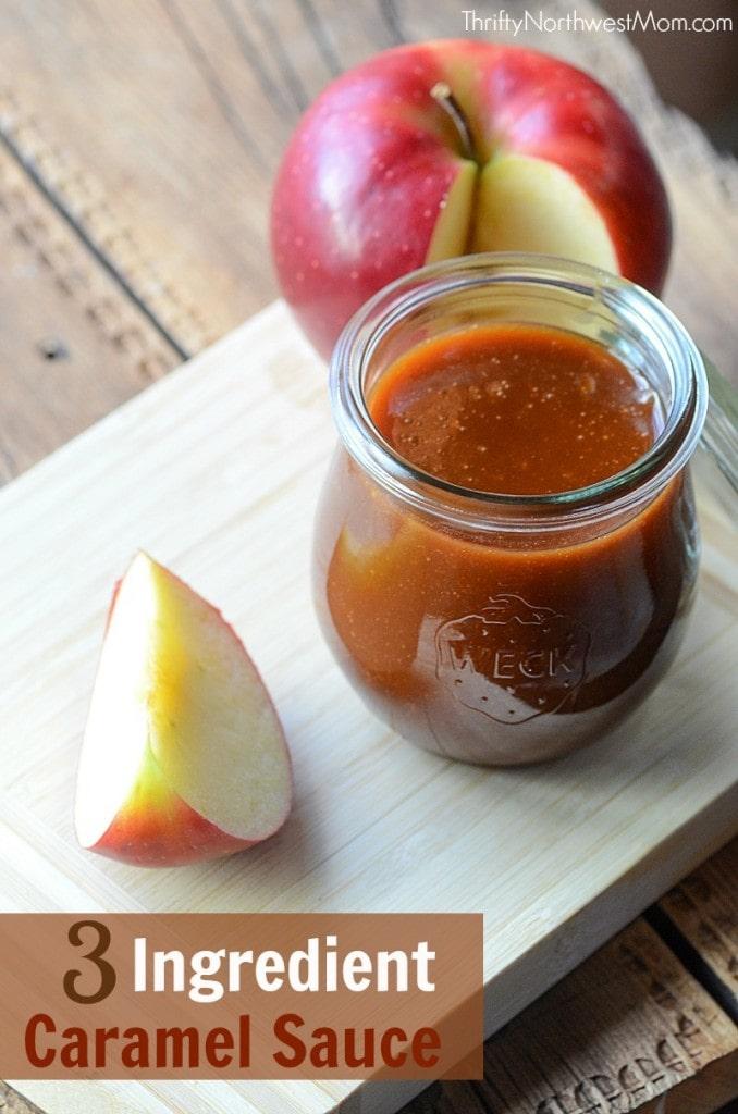 DIY Caramel Sauce - 3 Ingredients & So Easy to Make!
