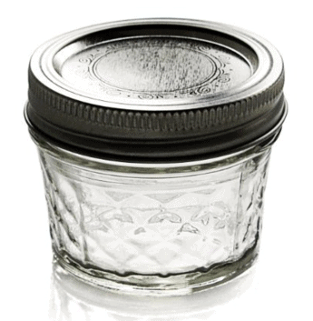 Ball Crystal Jelly Jars