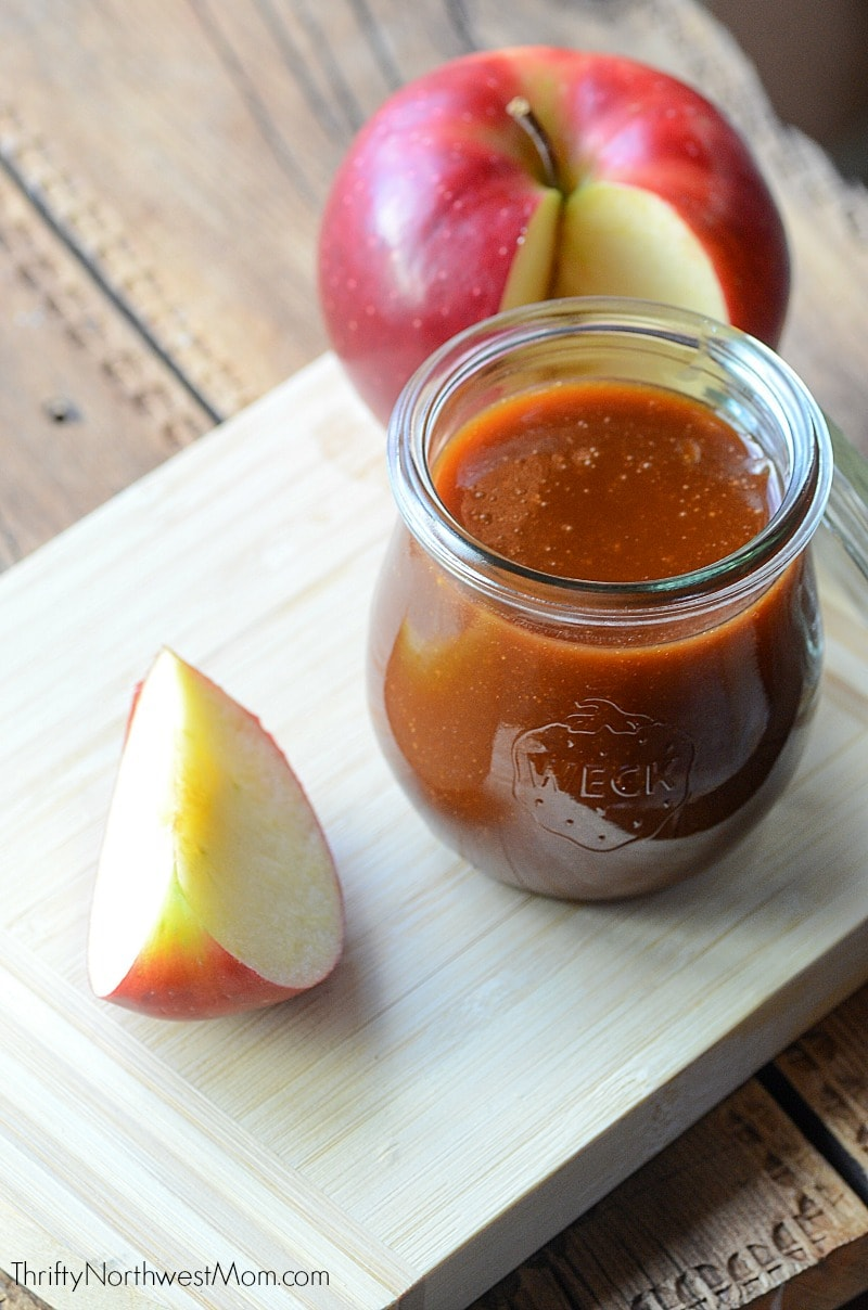 DIY Caramel Sauce -perfect for desserts, coffee, fruit & more!