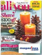 All You Magazine as low as $.62/issue from Magazines.com after Cash Back