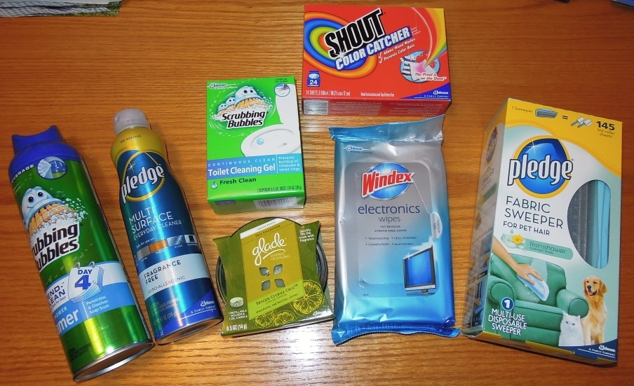 SC Johnson Products – Review & 2 Winners Win Package of Products