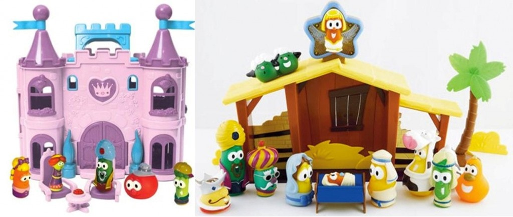 Veggie Tales Play Sets from Family Chrisitian as low as $9.99 including Shipping (after rebate)
