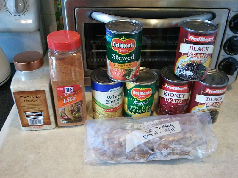 Taco Bean Soup Ingredients