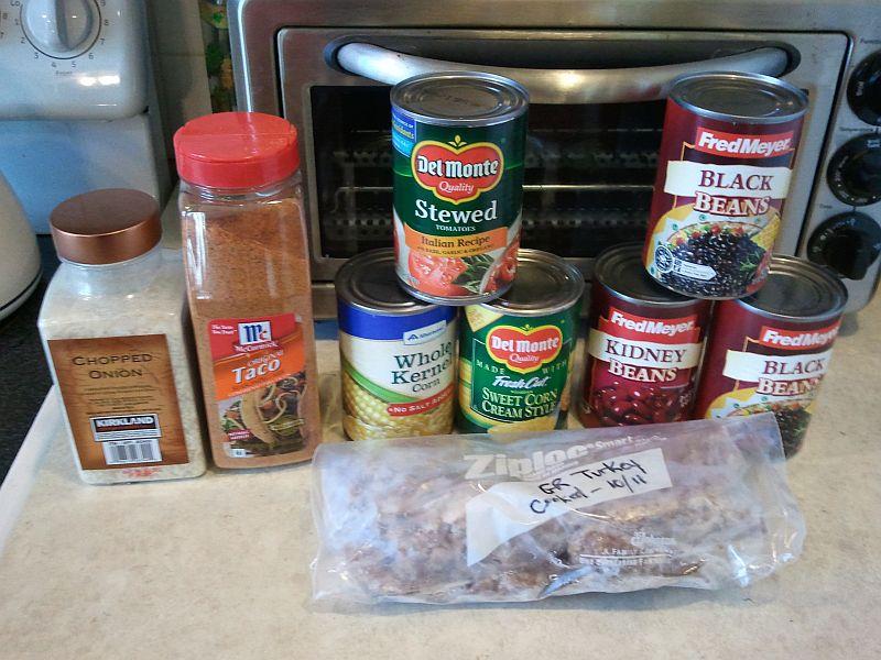 Taco Bean Soup Ingredients