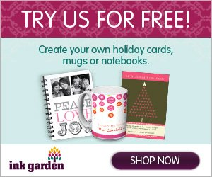 Ink Garden – Free Personalized Gifts – Mug, Note cards, Mousepad – just pay shipping!