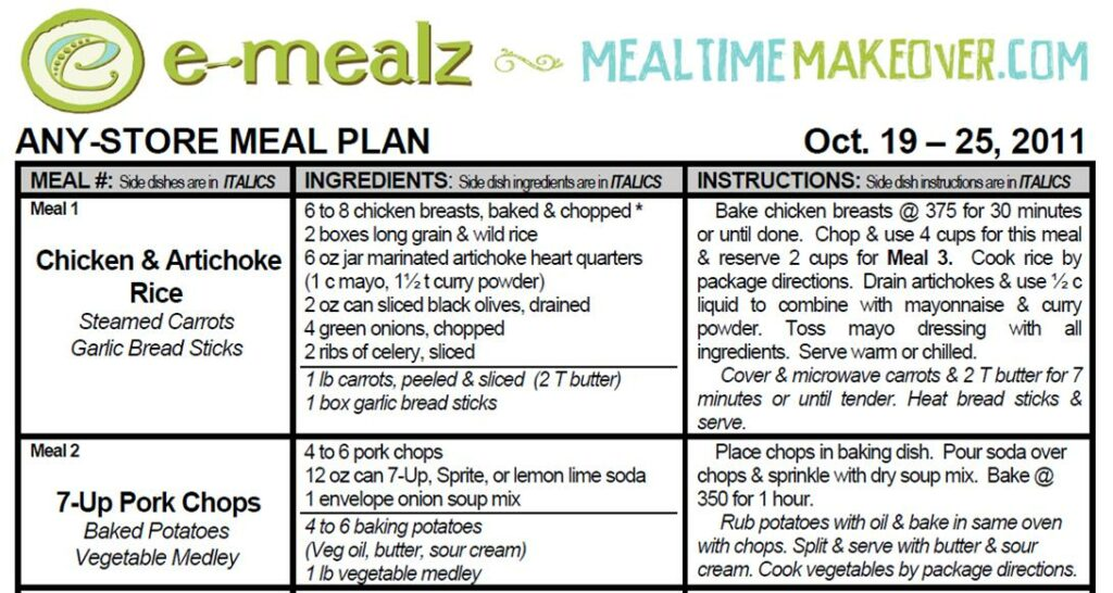 E-Mealz Product Review & Giveaway