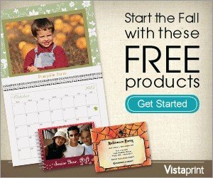 250 Business Cards Free + $5.67 Shipping with Vistaprint's Fall Free Products promotion!