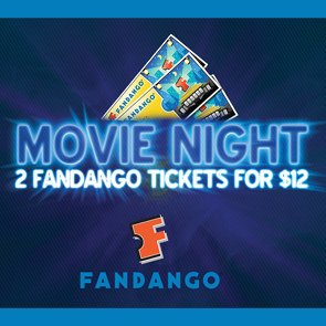 Get 2 Fandango.com Movie Tickes for Only $12 on Sharing Spree