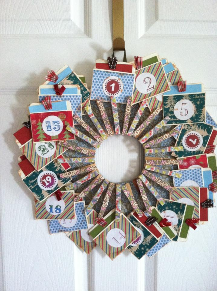 Diy Advent Calendar Wreath : Celebrating days of christmas diy advent calendars