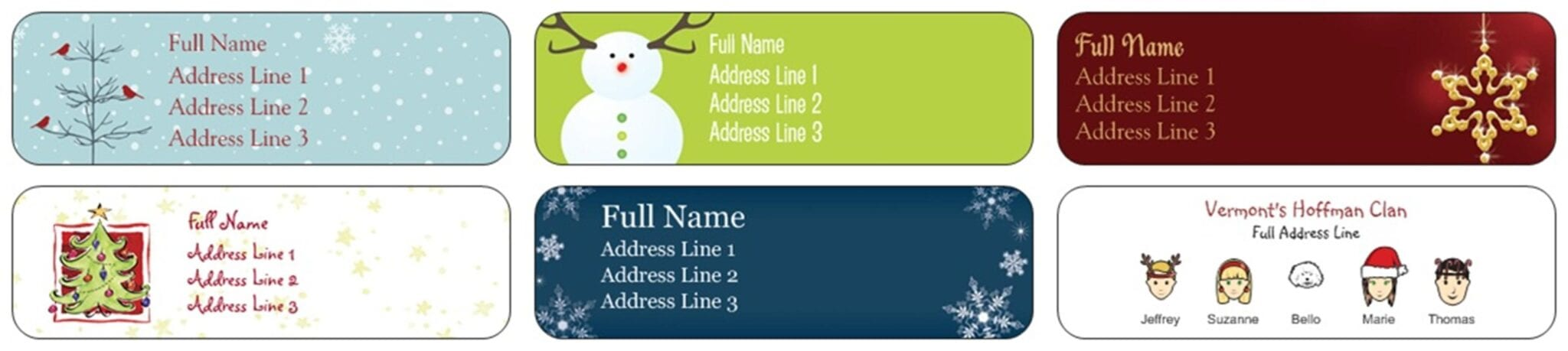 140 return address labels from vistaprint for free just pay