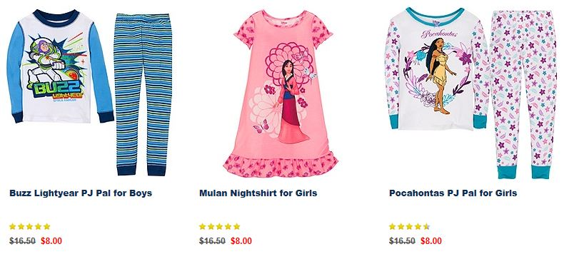 Disney Store Cyber Monday Deals – PJs only $8, Up to 25% off Everything and FREE Shipping!