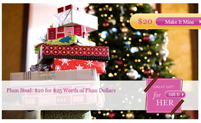 Get $25 Plum Dollars for use at Plum District for Only $20