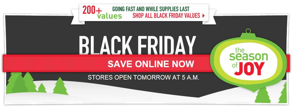 Lowe's Online Black Friday Deals are Live