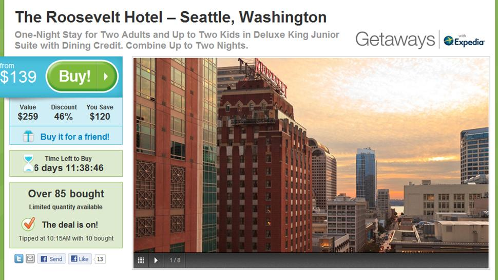 Two Local Travel Deals – The Roosevelt Hotel in Seattle and Lincoln City, Oregon Beach House