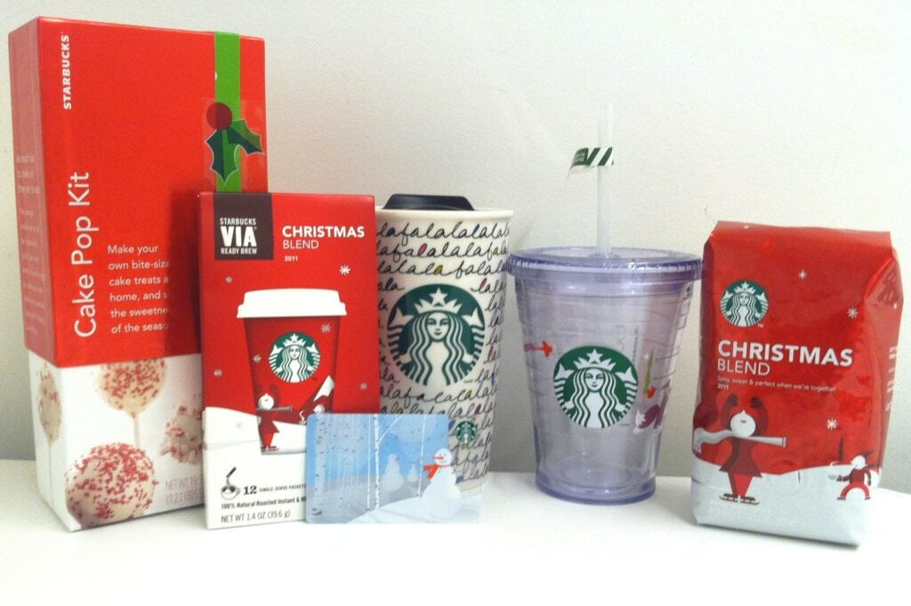 Starbucks Holiday Giveaway Package – $50 Starbucks Card PLUS more!