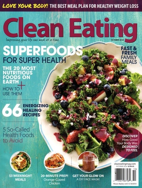 Clean Eating Magazine – $7.99 /Year Subscription