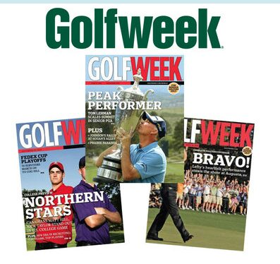 Golf Week Magazine – 1 Year Subscription (45 Issues) for $3.99