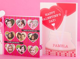 Tiny Prints – FREE Valentine's Day Personalized Greeting Card